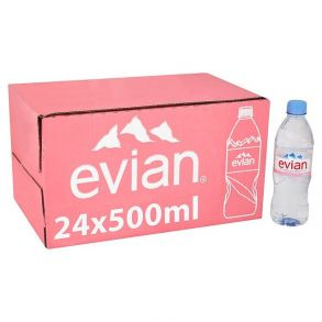 Evian Plastic Still Water (500ml)