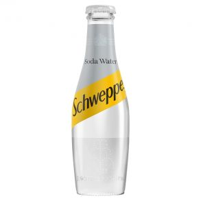 Schweppes Soda Water (24x200ml)