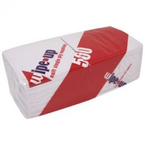 Wipe-Up Napkin 1ply 33x33cm (5000)