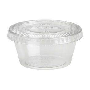 2oz Solo Round Dip Container