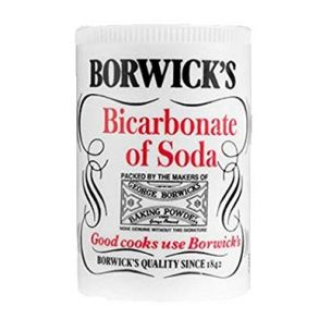Borwick's Bicarbonate of Soda (12x100g)