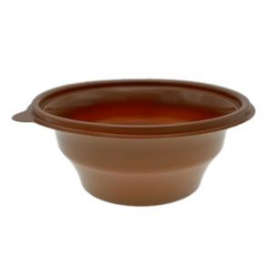 375cc Microwavable Brown Bowl