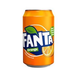 Fanta Orange GB Can (24x330ml)