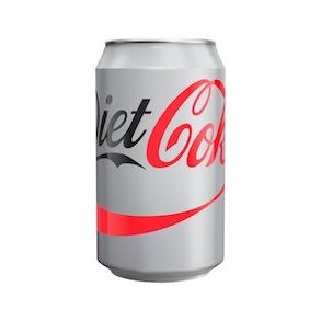 Diet Coke GB Can (24x330ml)