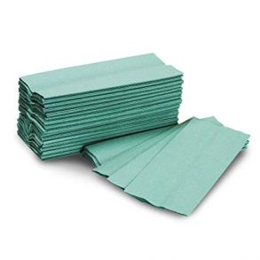 Green C-fold Hand Towel 1ply (2880)
