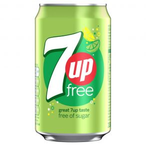 7UP Free Can (24x330ml)