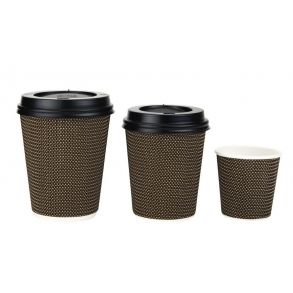 VIP Double Wall Hot Cups (4/8/12oz)