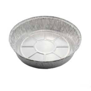 "9"" Round Foil Container (Base Only)"