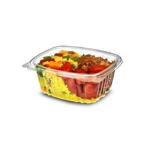 375cc Hinged Salad Container (640)