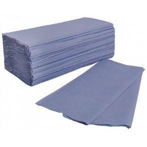 Blue C-fold Hand Towel 1ply [31x22.5cm] (2880)