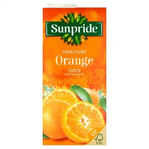 Sunpride Orange Juice (12x1ltr)