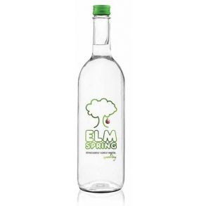 Elm Spring Sparkling Water Glass Bottle (750ml)