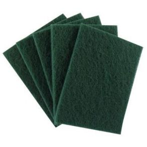 Green Scouring Pads 297x142mm (10)