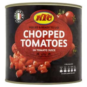 KTC Chopped Tomatoes (2.55kg)