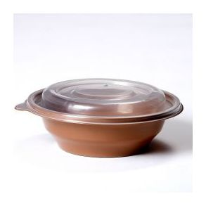 Brown Microwavable Bowl + Lid (250cc-750cc)