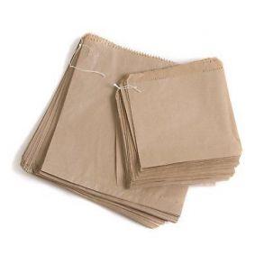 Brown Kraft Paper Bag Strung (All Sizes)