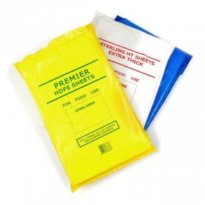 "Small Polythene Meat Sheet 9x14"" (2000)"