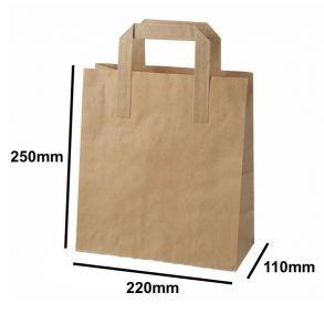 Medium Kraft SOS Carrier Bag