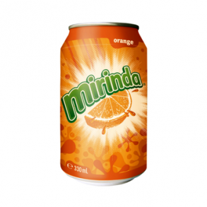 Mirinda Orange Cans (330ml)