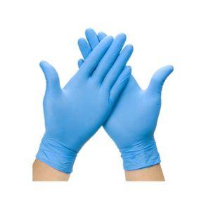 Large Blue Nitrile P/F Gloves