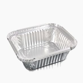 No2 Foil Container (Base Only)