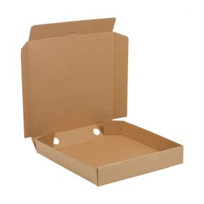 12'' Plain Brown Pizza Box (100)