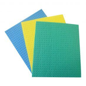 Sponge Cloth Assorted 200x180x4mm (10)