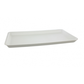 Polystyrene White Tray [SJ5 - 435x230x25mm] (125)