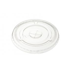 6/8/10oz Clear Straw Slot Lid [1000]