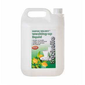 Sechelle Super Velvet Washing Up Liquid (Pack of 2)