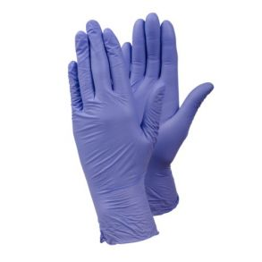 TEGERA 843 Large Nitrile P/F Gloves