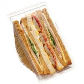 Triple Hinged Sandwich Wedge