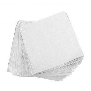 12x12 White Paper Bag