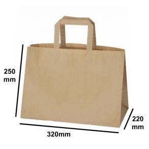 XX-Large Kraft SOS Carrier Bag