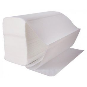 White Z-fold Hand Towel 2ply (3000)